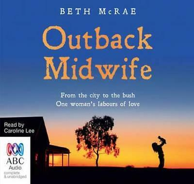 NEW Outback Midwife By Beth McRae Audio CD Free Shipping