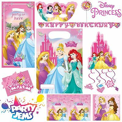 Disney Princess Dreaming Party Children's Birthday Tableware Decorations