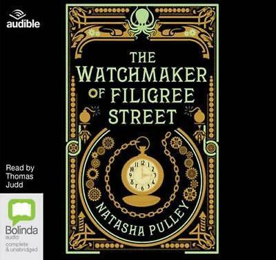 NEW The Watchmaker of Filigree Street By Thomas Judd Audio CD Free Shipping