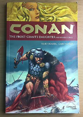 Conan, The Frost Giants Daughter Busiek & Nord TPB