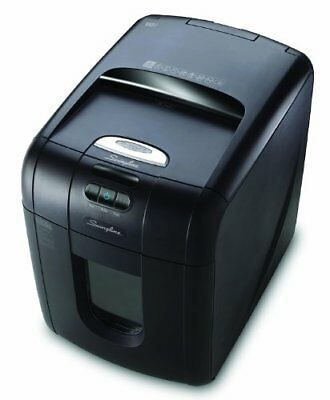 Swingline Auto Feed Paper Shredder, 100 Sheets, Micro-Cut, 1-2 Users, Stack-and-