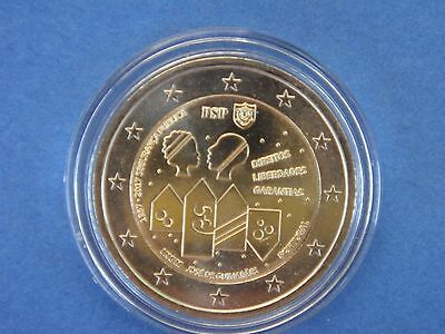 "PORTUGAL 2017 2 € Commemorative ""  POLICE  de  SECURITE ""  sous capsule"