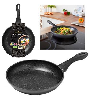 28cm Hawkmoor Stone Frying Pan Durable Non-Stick for Induction & Standard Hobs