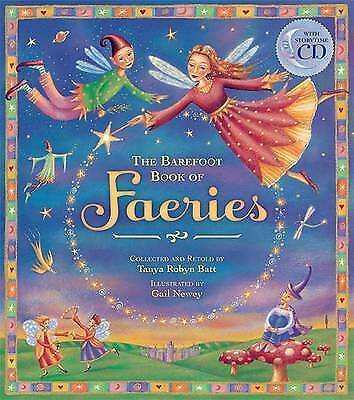 The Book of Faeries by Tanya Robyn Batt (Paperback) With Story CD