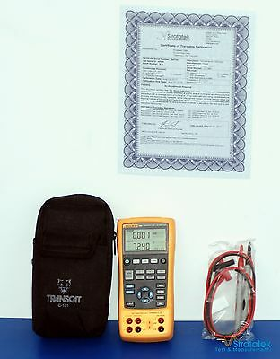 Fluke 724 Temperature Calibrator - NIST Calibrated with New Leads + Warranty
