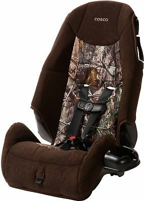 Cosco High Back Kids Booster Camo Car Seat, Realtree Baby Toddler Childrens NEW