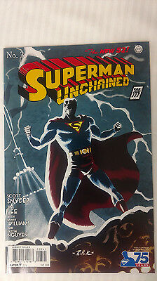 Superman Unchained #3 - 1:100 Variant! VF/NM - Dave Bullock Cover!