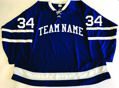 TEAM SET/LOT of 12 Toronto Maple Leafs Style With STITCHED NUMBERS