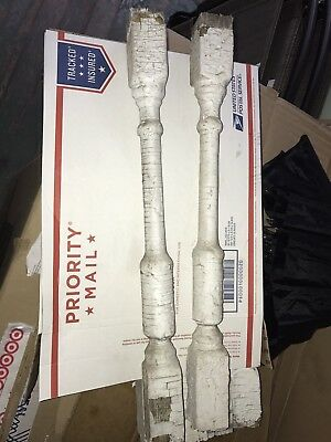 ~*~ SET OF 10 FARM FRESH Architectural SALVAGE Wood Railing SPINDLES Balusters