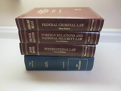 Nice lot of legal law books hardcover West Group and Foundation Press