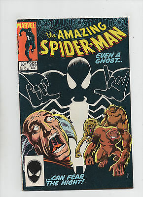 Amazing Spider-Man #255 - Even A Ghost Can Fear The Night! - (Grade 7.5) 1984