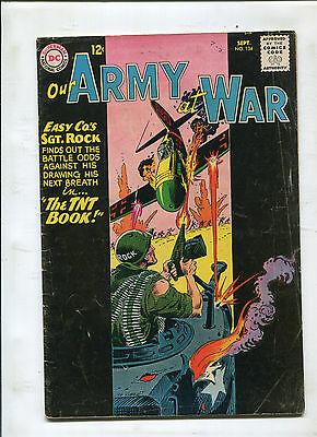 Our Army At War #134 (5.0) The Tnt Book!