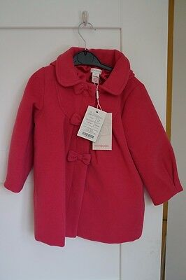 Monsoon cherry girl's coat with hood 2-3 years – New with tags (NWT)