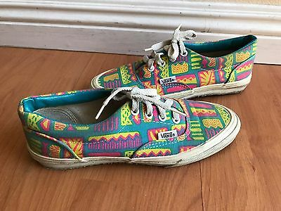 Vintage Vans Era Boys Womens 90s Made in USA authentic sk8 hi