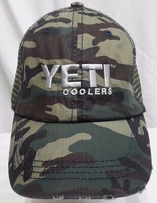 e48b3eae7dd NEW! YETI COOLERS Embroidered Baseball Cap Hat the gear for any YETI ...
