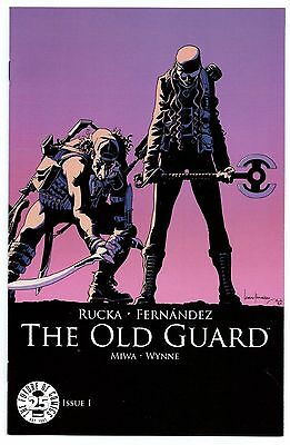 The Old Guard #1 Image 25th Anniversary Cover Variant NM