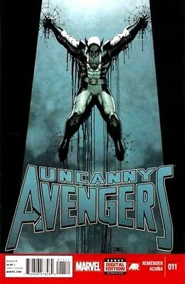 The Uncanny Avengers #11  Marvel Comic Book   vf to nm