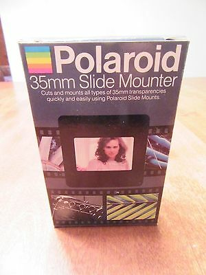 New Polaroid 35mm Slide Mounter in Box