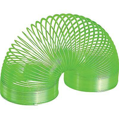 Color Metal Slinky By Alex Brands - Green - Brand New In Box