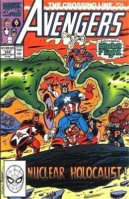 The Avengers #324  Marvel Comic Book  fn to vf