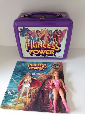 Vintage Princess of Power She-Ra Lunch Box  plus doll and book