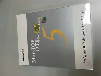 MainTop Rip Software V5.X for Roland RS640 XF640 FJ740 FH740 RF640 (hardcover)
