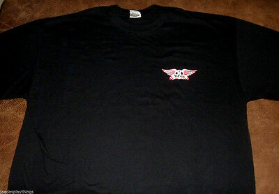 Aerosmith Tour Concert Shirt Size XL Rockin The Joint VIP Vtg 2006