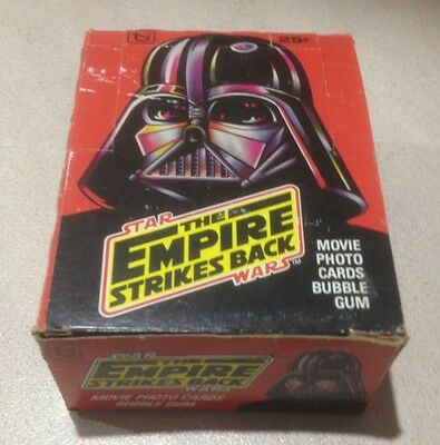 "1980 Topps ""The Empire Strikes Back - Series 1"" - Full Box of 36 Wax Packs"