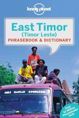 Lonely Planet East Timor Phrasebook & Dictionary by Lonely Planet 9781743211823