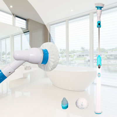 Rechargeable Fast Spin Home 360 Cordless Handheld power Scrubber Cleaning Brush