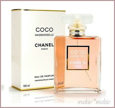 coco mademoiselle by chanel 100ml edt spray aud. Black Bedroom Furniture Sets. Home Design Ideas