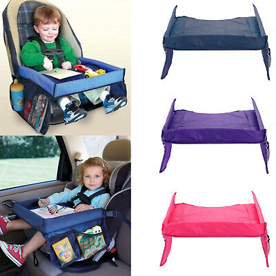New Baby Children's Snack Play Tray for Car Seat Plane Toddler Portable Travel