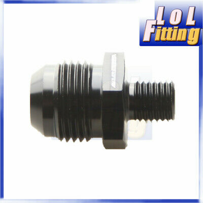 Male -10 AN 10 AN AN 10 10 AN Flare To M12x1.5 Metric Straight Fitting Black