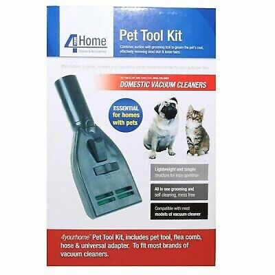 Pet Grooming Tool Kit for Vax Vacuum Cleaners - Essential for Pet Owners
