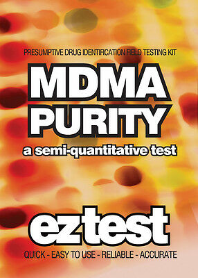 EZ Test Kit for MDMA Purity Single Use Drug Testing Kit  10 tests