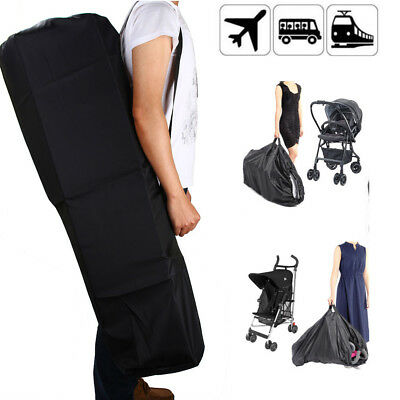 Pram Gate Check Travel Bag Umbrella Stroller Pushchair Buggy Cover UK Seller