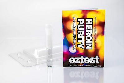 EZ Test Kits for Heroin Purity 10 tests