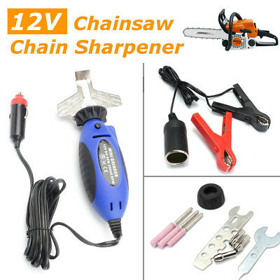 12V Electric Handheld Chain Saw Filing Chainsaw Sharpener - 585015 (Prev 519214)