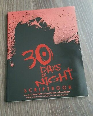 30 Days of Night Scriptbook (Soft cover graphic novel 2007)