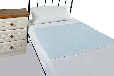 Washable Incontinence Bed Set 2 x Bed pads with tucks,1 x mattress protector.