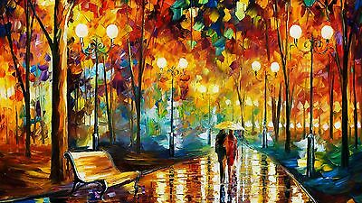 """STUNNING MODERN ART OIL PAINTING PICTURE CANVAS WALL ART LARGE 20x30"""""""