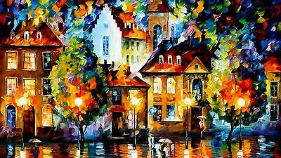 """STUNNING MODERN ART OIL PAINTING CANVAS PICTURE WALL ART LARGE 20x30"""""""