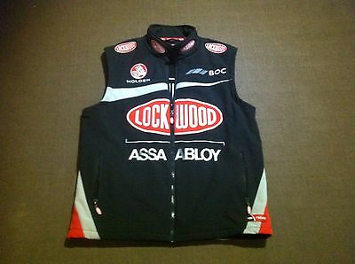 V8 Supercars Holden Lockwood , BOC, Softshell Vest, near new