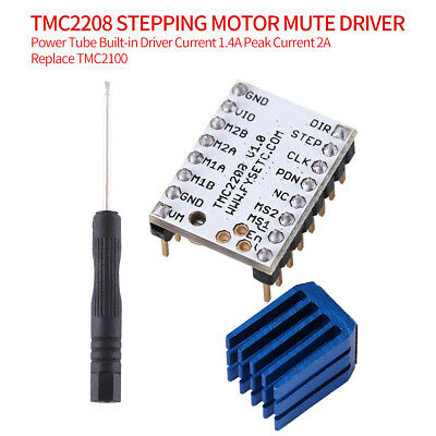 Stepper Motor Driver Module With Heat Sink 3D Printer Part Replacement CE