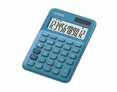 Casio MS-20NC Basic Desktop Calculator 2-Way Power 12 Digits Extra Large Display