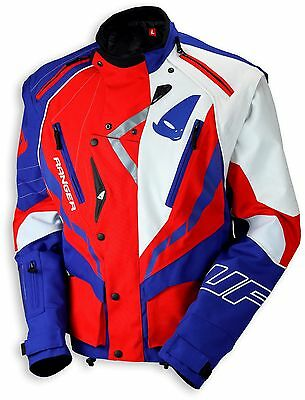 UFO 2018 Ranger MX Enduro Jacket - Red White Blue - Large