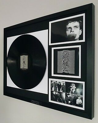 Joy Division Framed Original Record-VINYL Unknown Pleasures-Ian Curtis-New Order