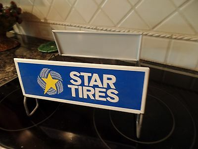 Vintage  Star  Tire Stand Sign
