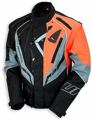 UFO 2018 Ranger MX Enduro Jacket - Black Grey Orange - Medium