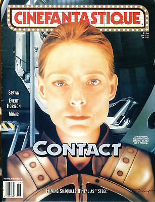 CINEFANTASTIQUE magazine Vol.29 No.2 Jodie Foster CONTACT Shawuille O'Neal, S...